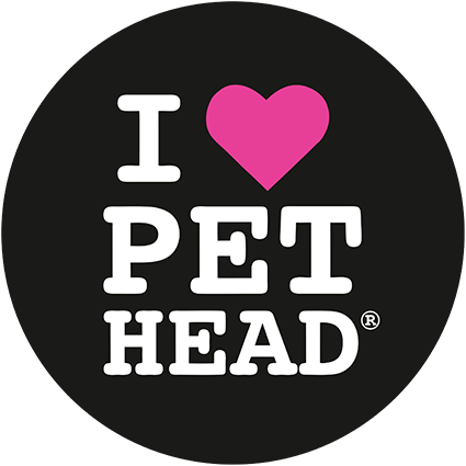 Логотип I Heart Pet Head Cat